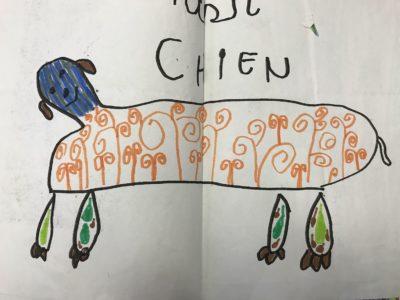 dessin doudou chien